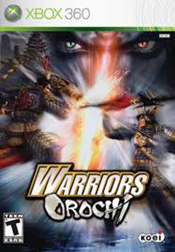 Warriors Orochi Video Game Back Title by WonderClub