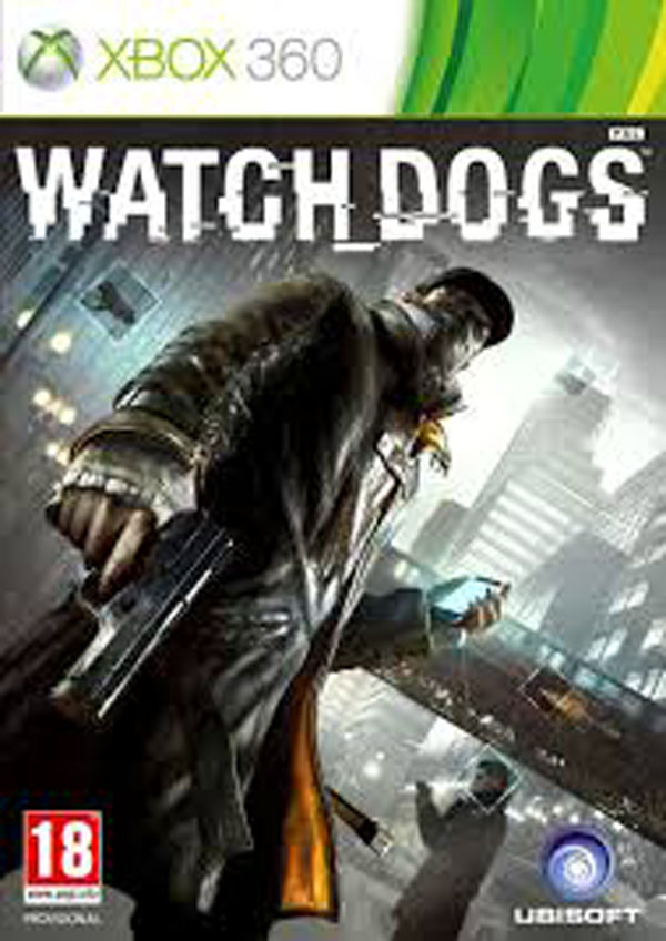 Watch Dogs Video Game Back Title by WonderClub