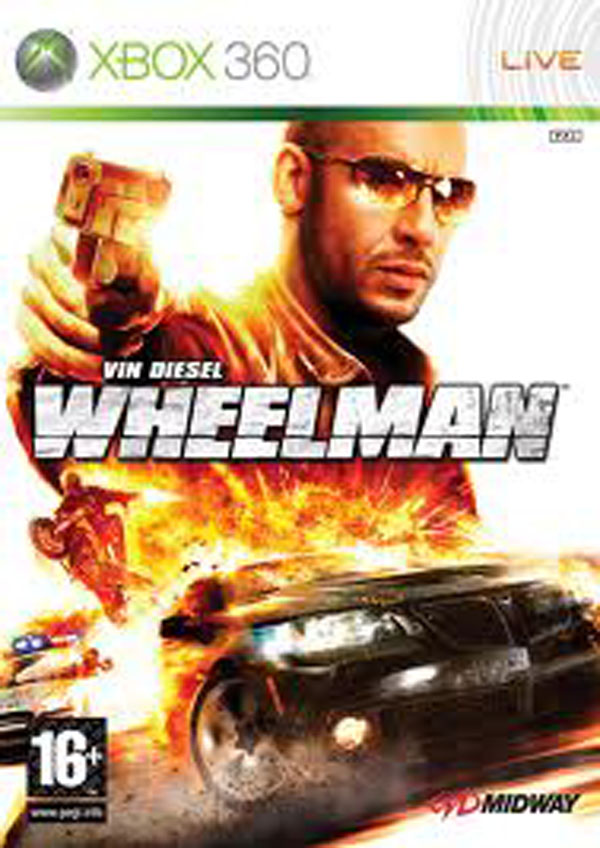 Wheelman Video Game Back Title by WonderClub