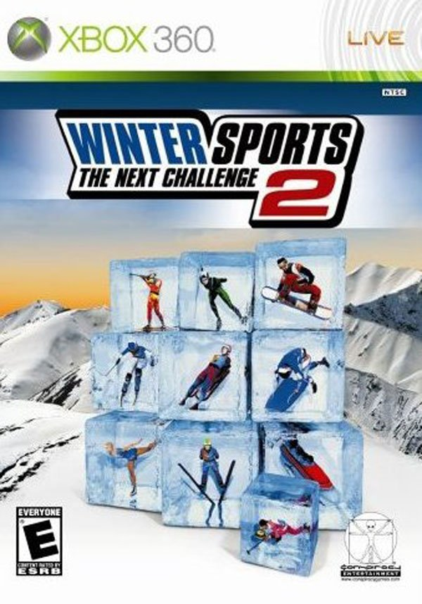 Winter Sports 2: The Next Challenge Video Game Back Title by WonderClub