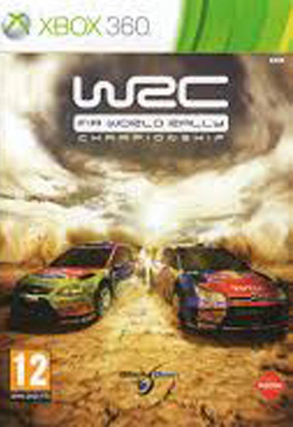 WRC: FIA World Rally Championship Video Game Back Title by WonderClub
