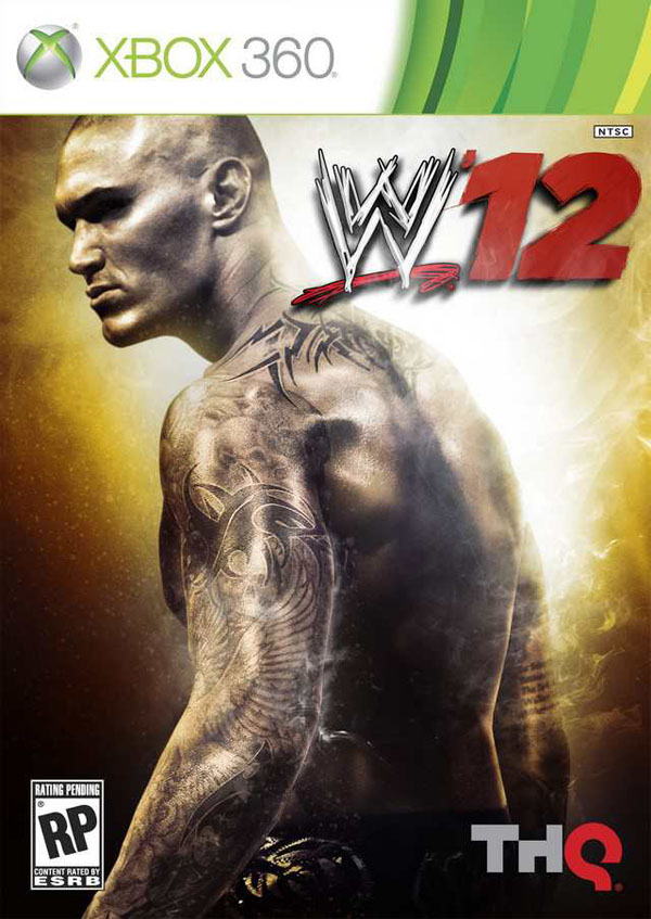 WWE '12 Video Game Back Title by WonderClub