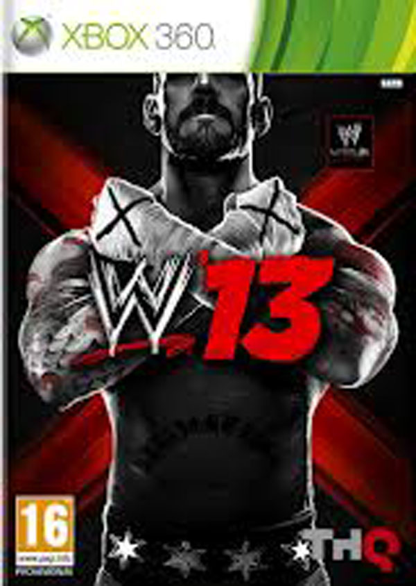 WWE '13 Video Game Back Title by WonderClub