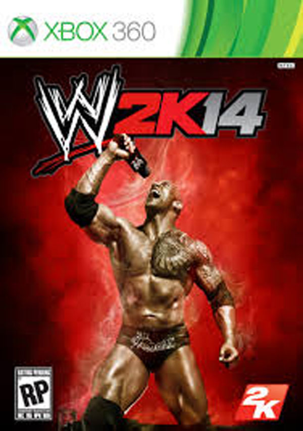WWE 2K14 Video Game Back Title by WonderClub