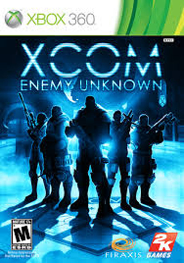 XCOM: Enemy Unknown Video Game Back Title by WonderClub