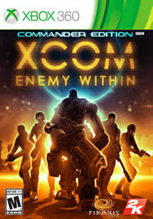 XCOM: Enemy Within Video Game Back Title by WonderClub
