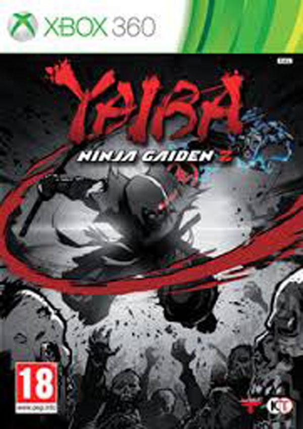 Yaiba: Ninja Gaiden Z Video Game Back Title by WonderClub