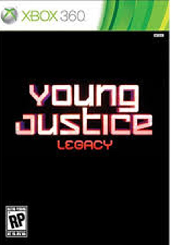 Young Justice: Legacy Video Game Back Title by WonderClub