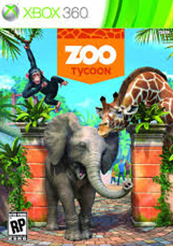 Zoo Tycoon Video Game Back Title by WonderClub