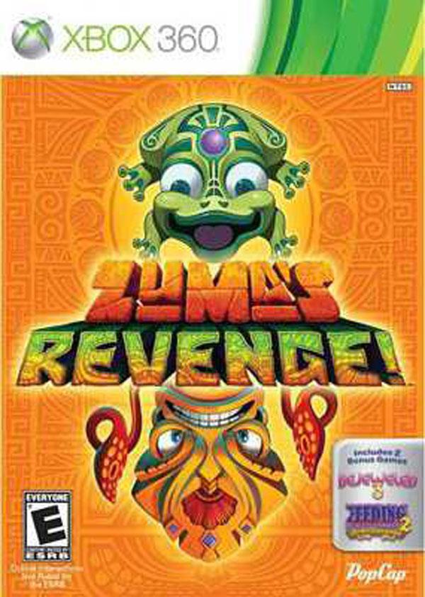 Zuma's Revenge! Video Game Back Title by WonderClub